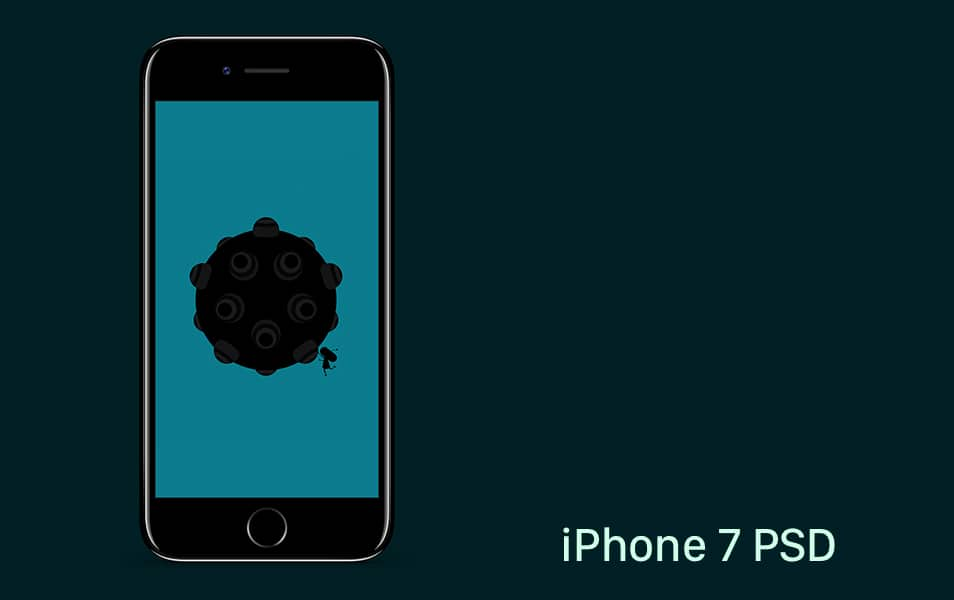 iPhone 7 PSD