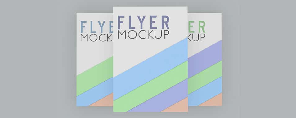 Free Flyer / Resume / Poster Mock-ups