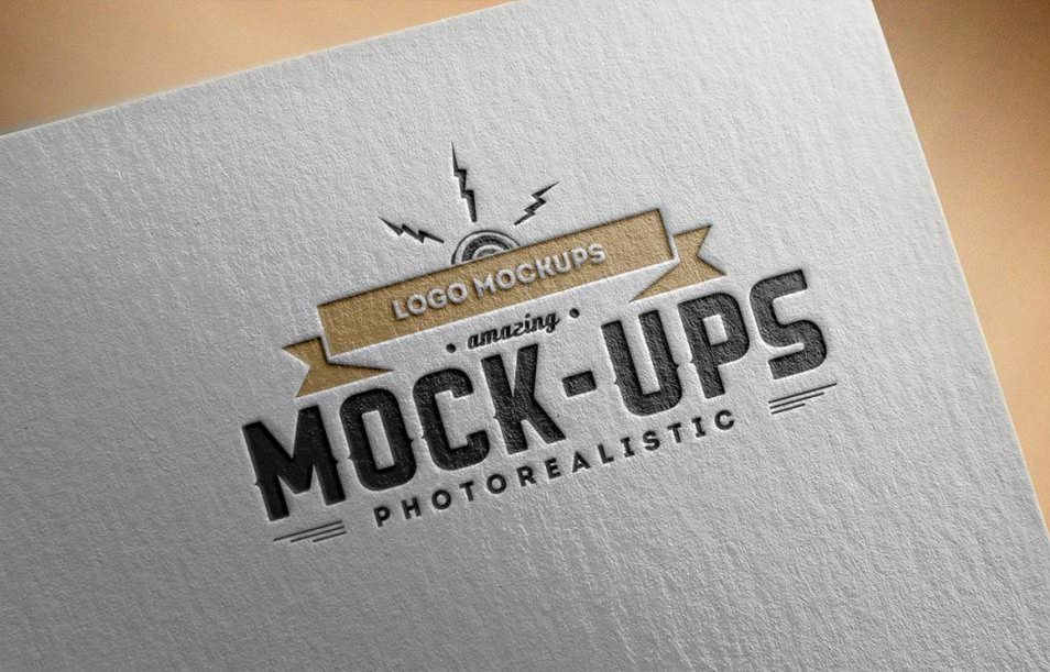 Logo Mock-Up / Paper Edition 1