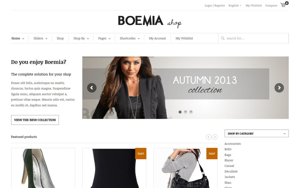 Boemia Responsive WordPress Theme