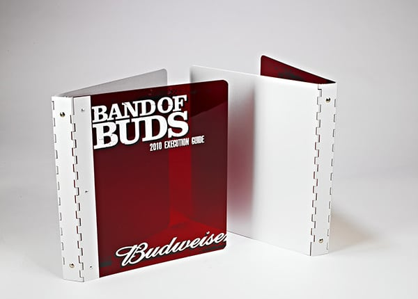 Custom Metal Binder