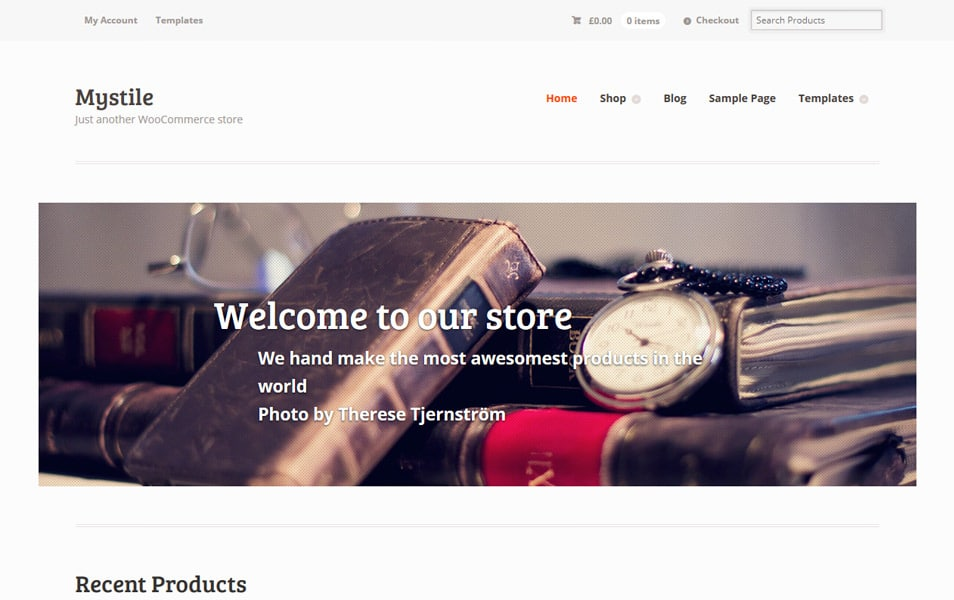 Mystile Responsive WordPress Theme