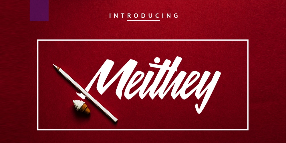 Meithey Bold Script Font