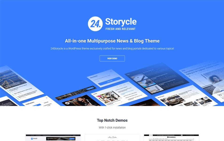 24.Storycle - Responsive WordPress Themes