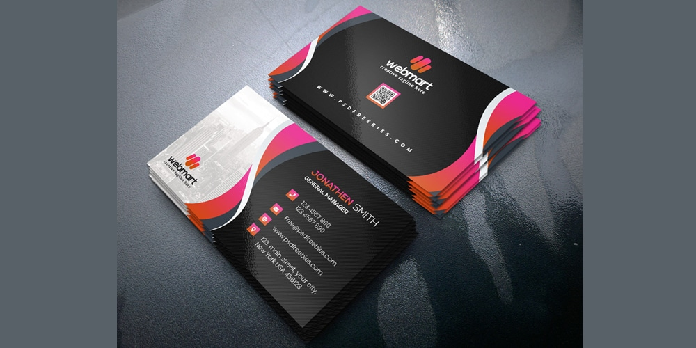 Corporate Business Card Templates PSD