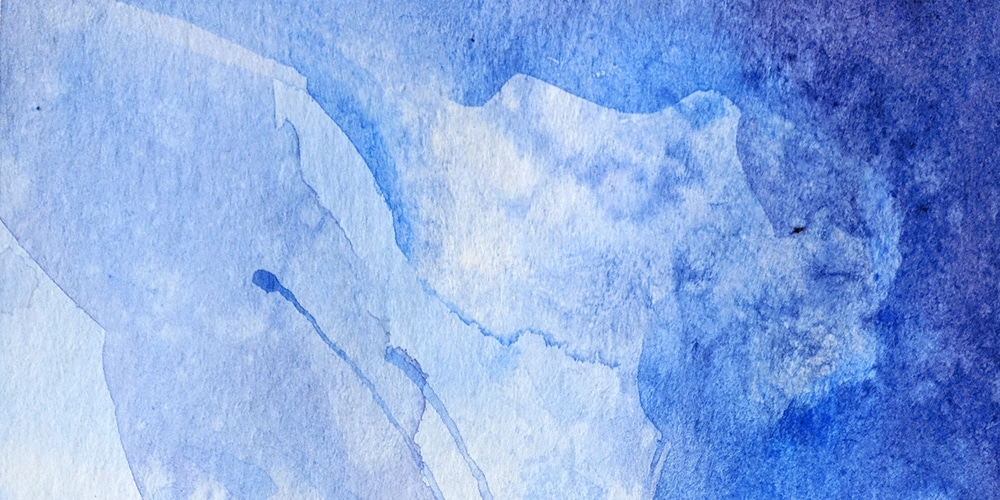 Free Blue Color Textured Watercolor