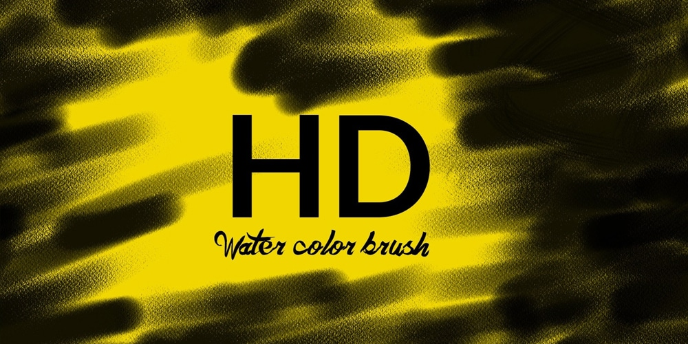 Free HD Water Color Photoshop Brushes