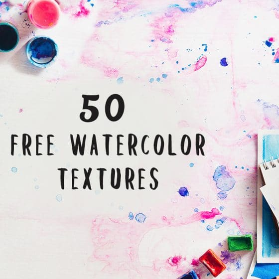 Free Watercolor Elements for Designers