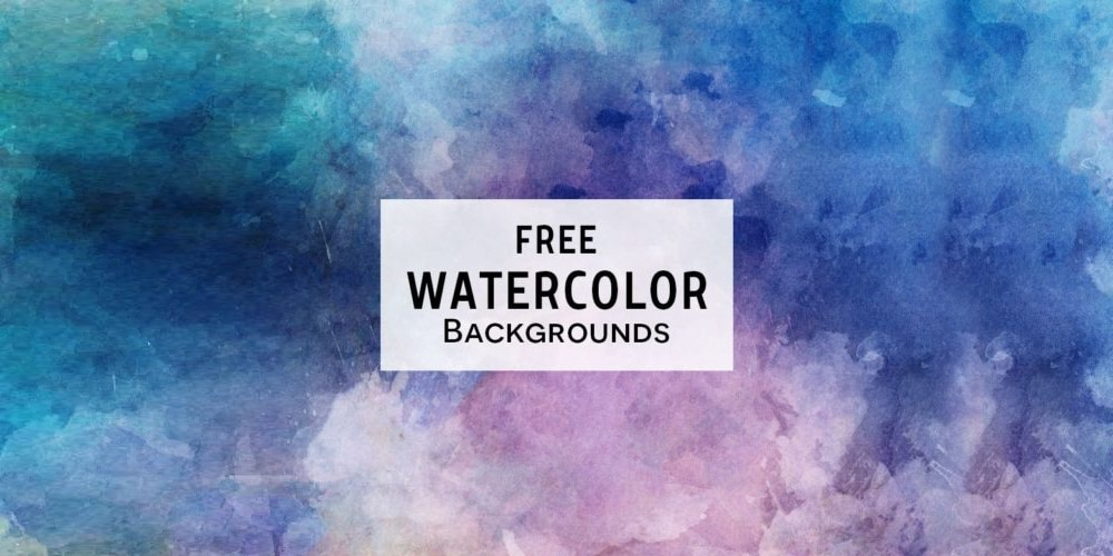 Free Watercolor Textured Backgrounds