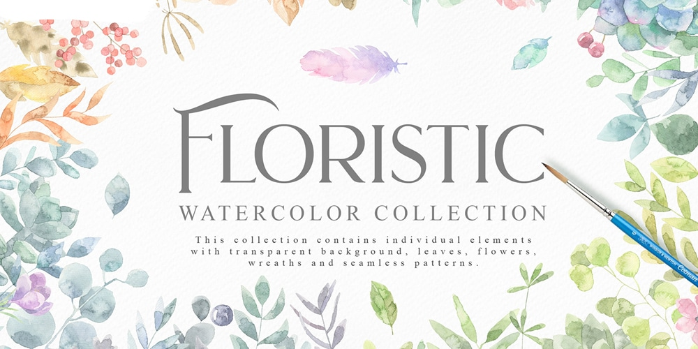 Free-Watercolour-Graphics-Collection