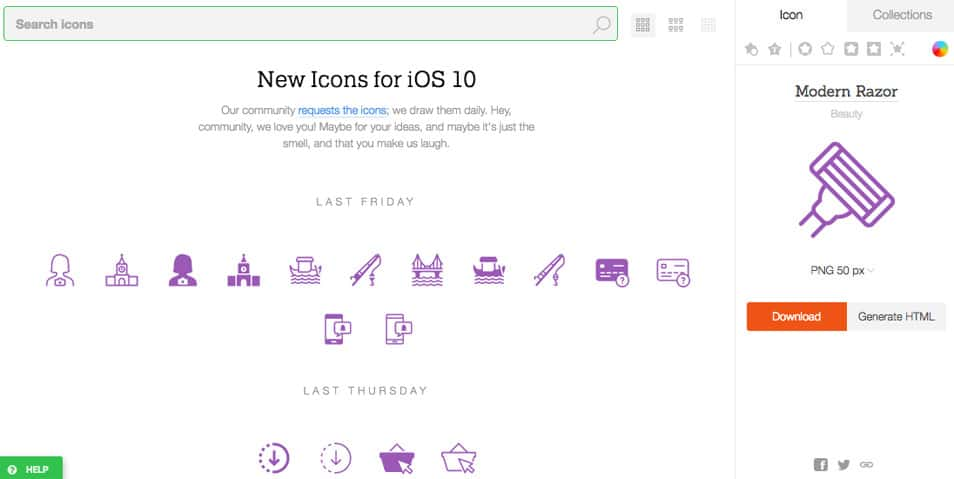 Icons8 Giveaway - One-Year Access To Icons8 Library ( 2