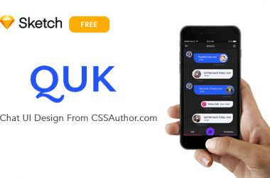 QUK Chat UI Design