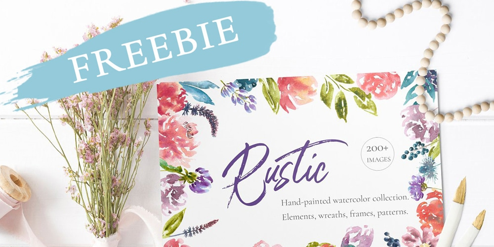 Rustic Watercolor Collection