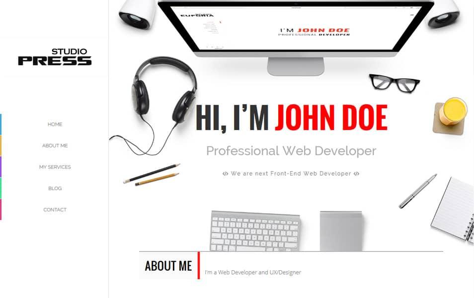 StudioPress Portfolio/Creative Blogger Template