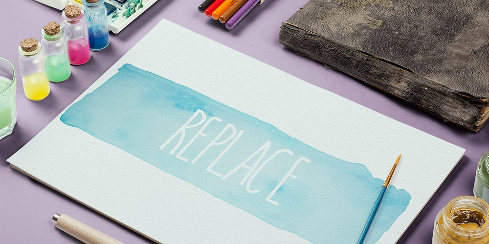 free watercolor design elements