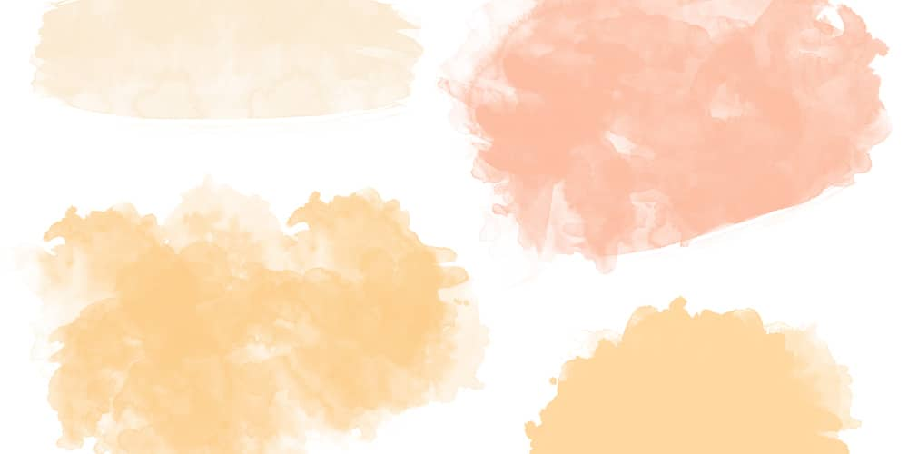 Watercolor Swashes Backgrounds