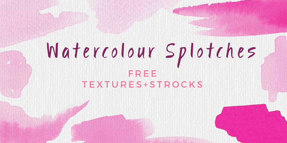 hand-painted watercolour backgrounds
