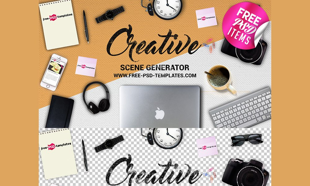 Top 70+ Mockup Creator & Scene Generator PSD | Free & Premium