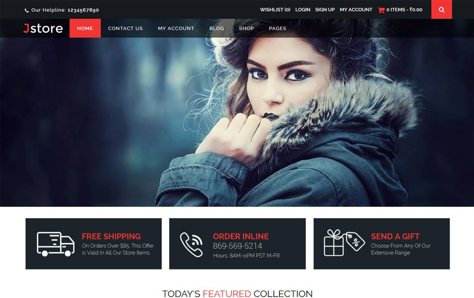 Jstore Responsive WordPress Theme