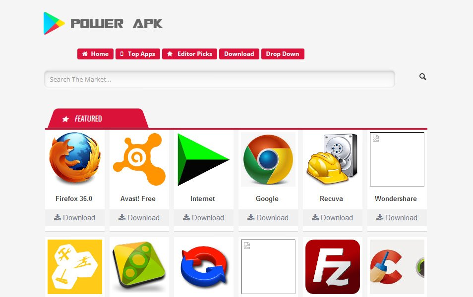 Power APK Responsive Blogger Template