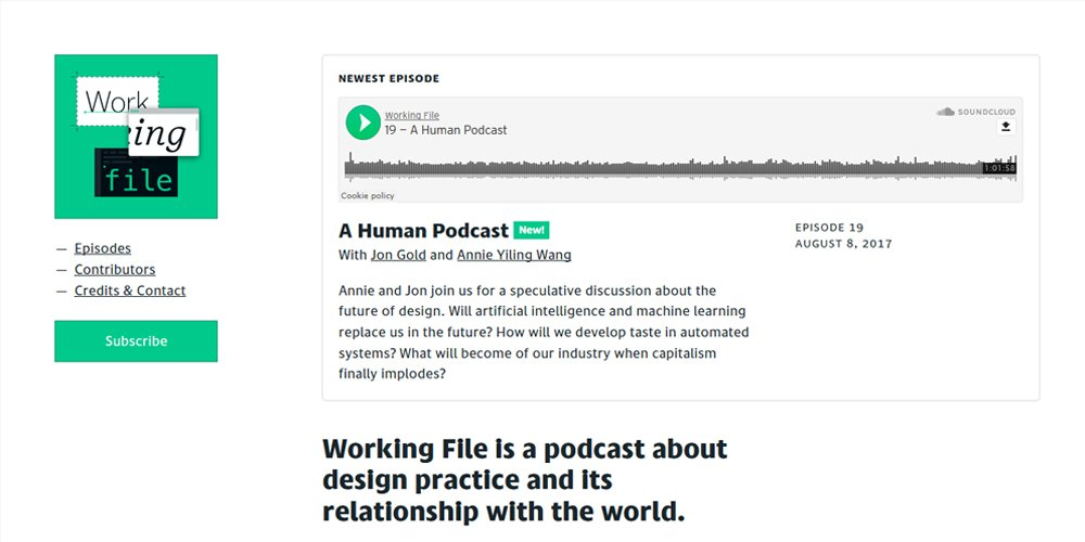 Working File Podcast