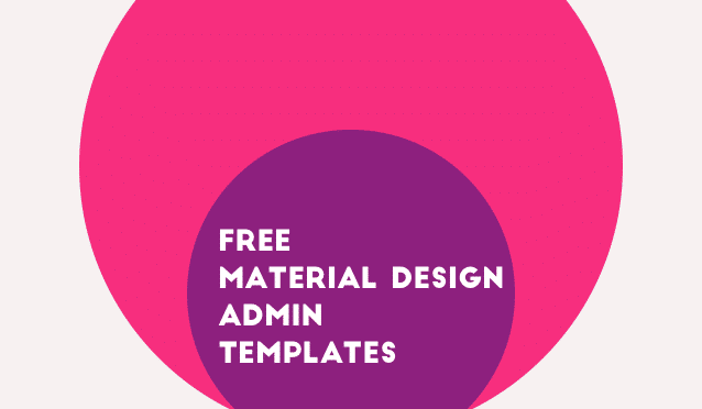 35+ Best Free Material Design Admin Templates » CSS Author