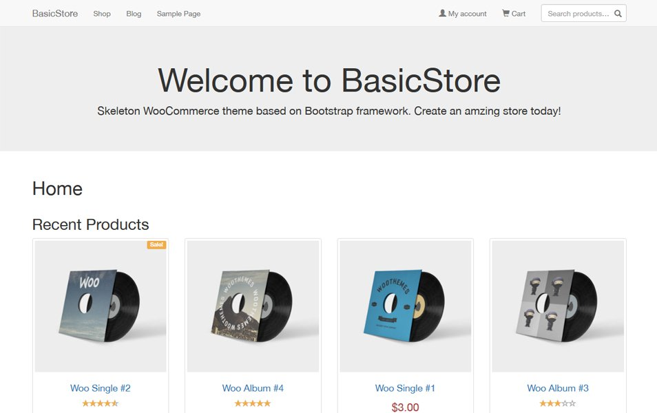 BasicStore Responsive WordPress Theme