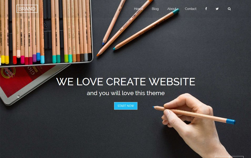 Brand Responsive WordPress Theme