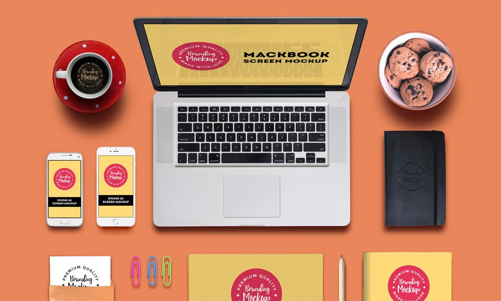 Free Branding and Identity Mockup PSD