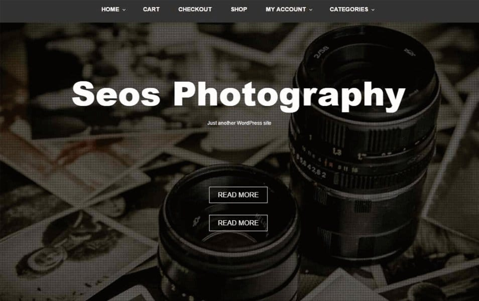 Seos Photography Responsive WordPress Theme