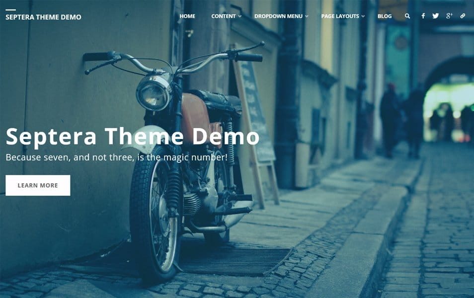 Septera Responsive WordPress Theme