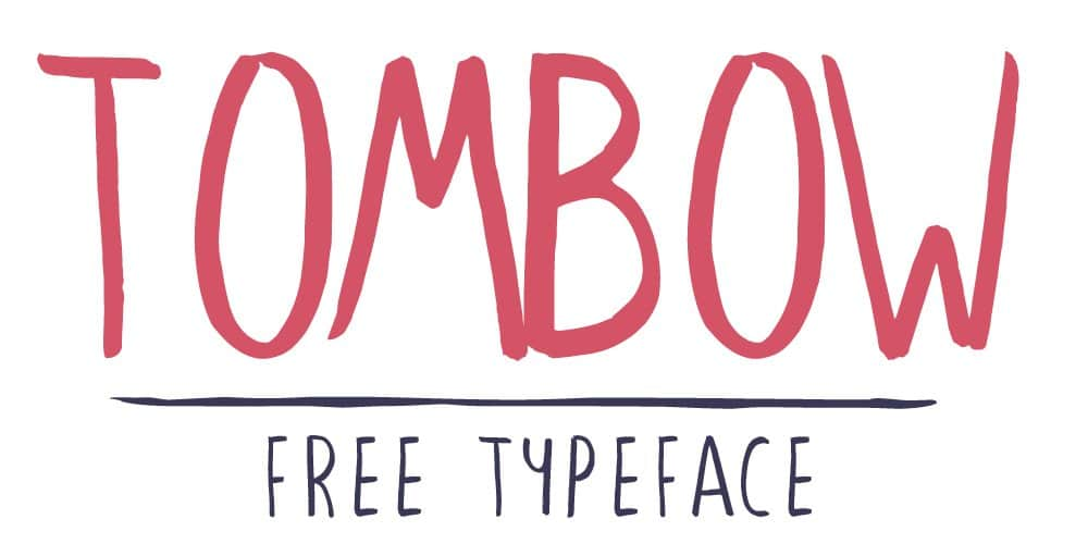 Tombow Typeface