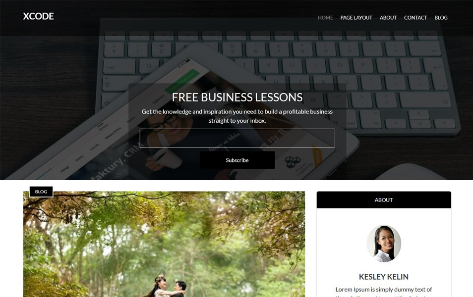 XCode Responsive WordPress Theme