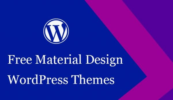 20+ Free Material Design WordPress Themes 2017