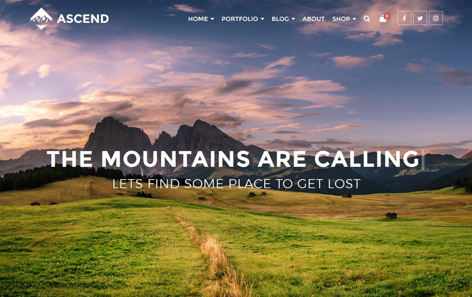 Ascend Responsive WordPress Theme
