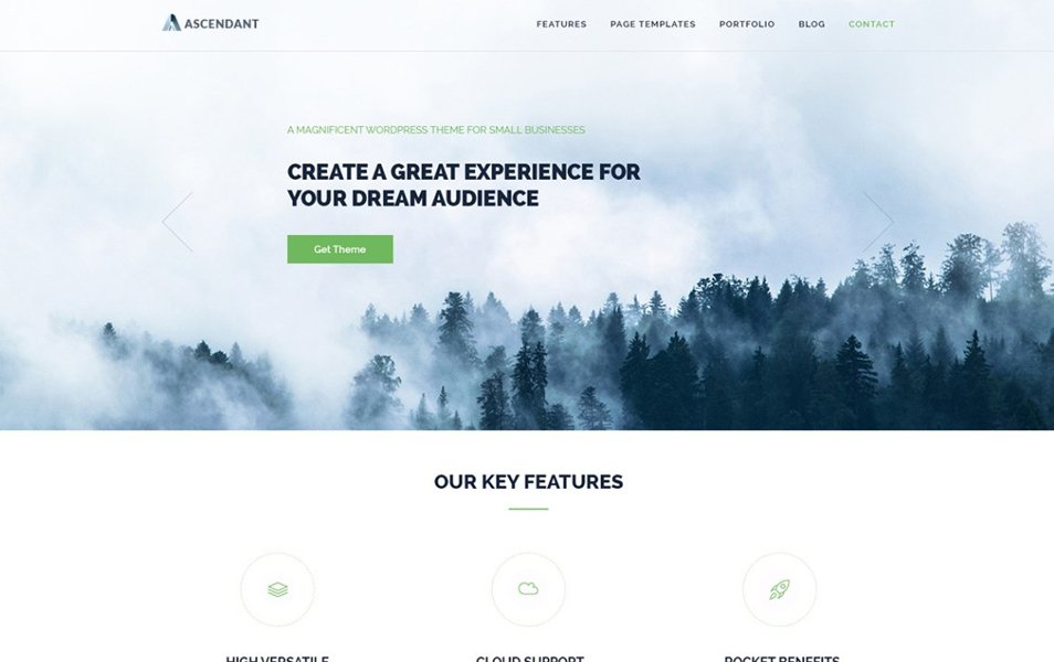 Ascendant Responsive WordPress Theme
