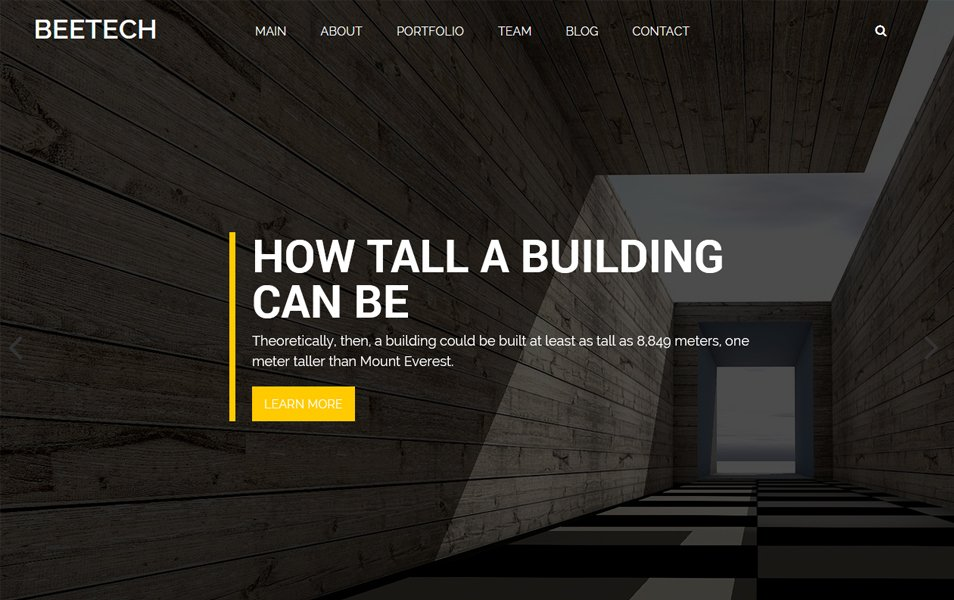 Beetech Responsive WordPress Theme