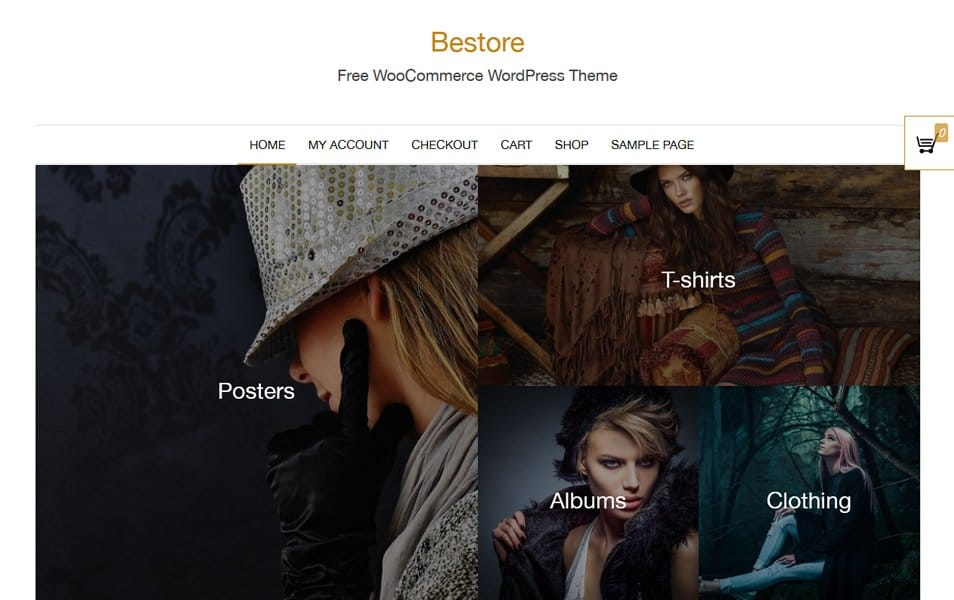 Bestore Responsive WordPress Theme