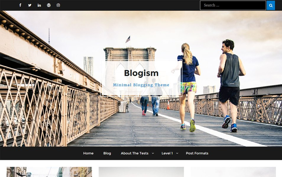 Blogism Responsive WordPress Theme