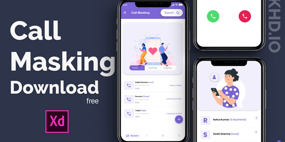 Call Making App Template