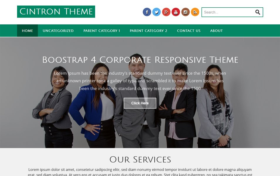 100+ Best Free Business WordPress Themes 2019 » CSS Author