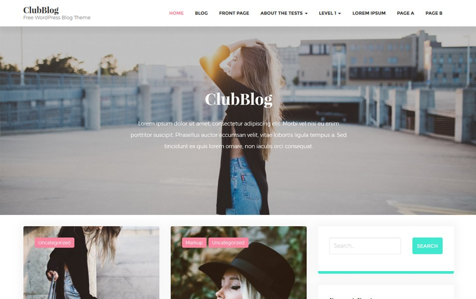ClubBlog Responsive WordPress Theme