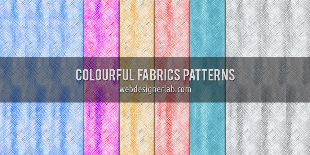 Colourful Fabrics Patterns