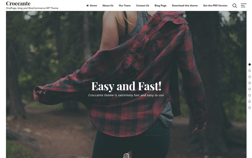 Croccante Responsive WordPress Theme