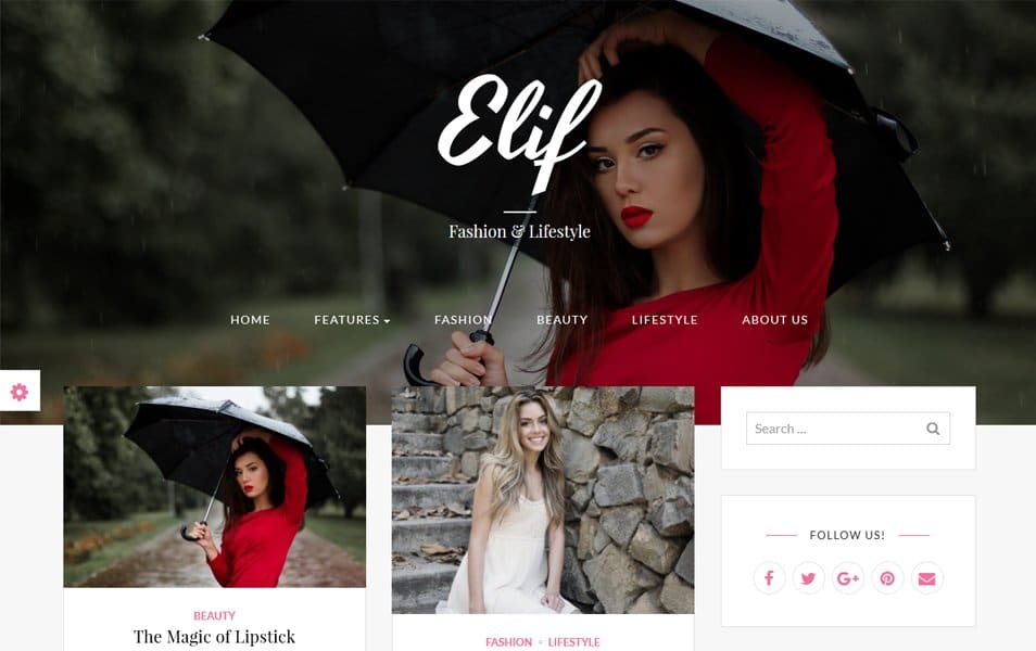 Elif lite Responsive WordPress Theme