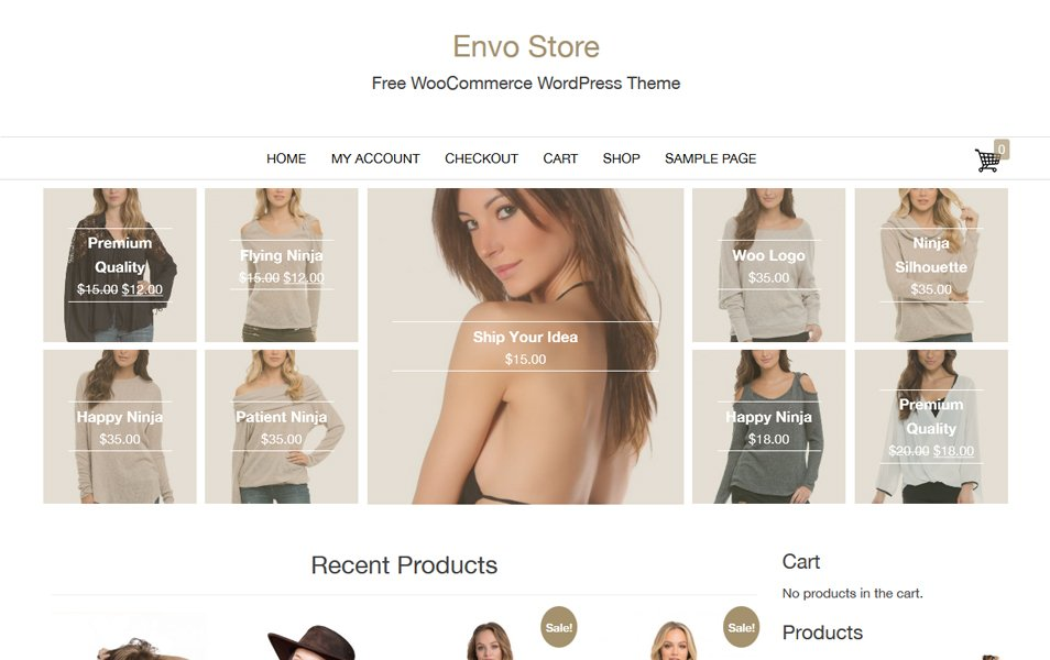 Envo Store Responsive WordPress Theme