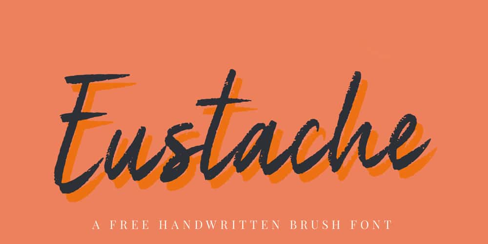 Eustache Brush Handwritten Font