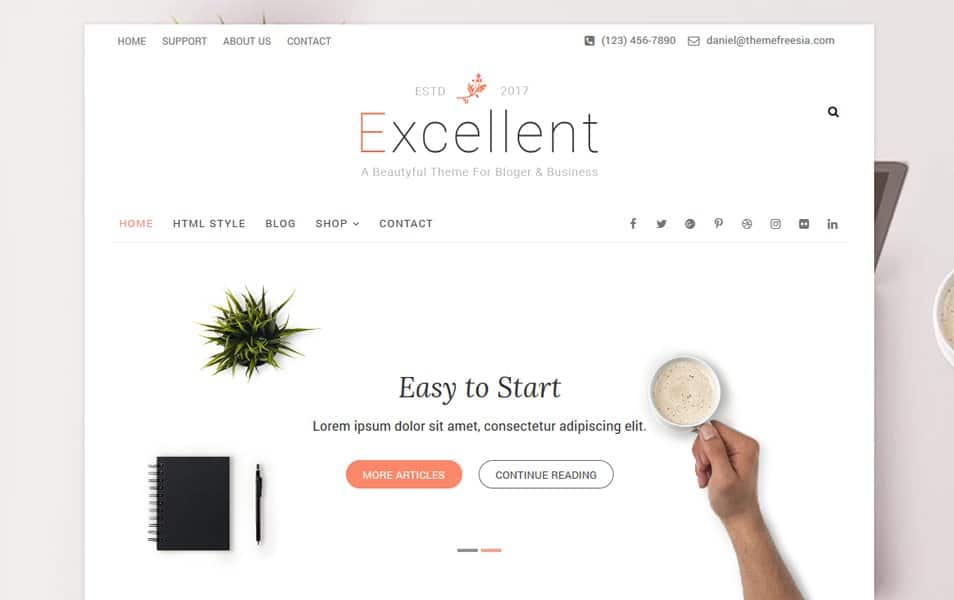 Excellent Responsive WordPress Theme