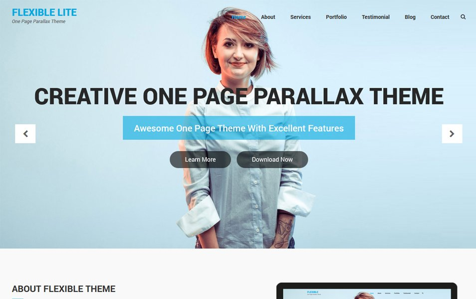 Flexible Lite Responsive WordPress Theme