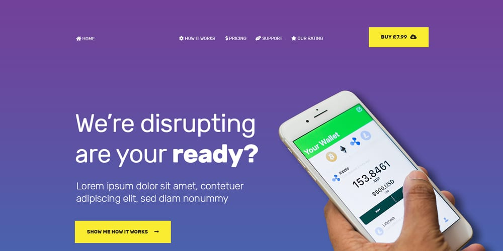 Free App or Technology Web Template